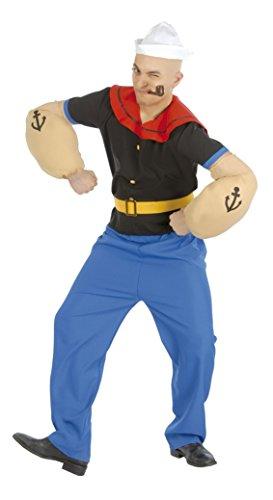 Guirca Costume braccio di ferro taglia adulto Popeye