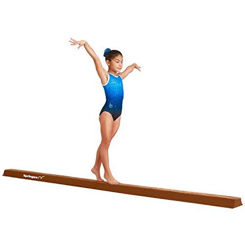 Springee Balance Beam - Extra Firm Folding Gymnastics Beam - Practice Gymnastics Equipment for Home - The Safe Balance Beam for Kids