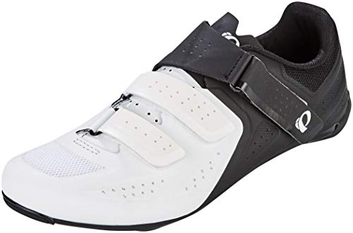PEARL IZUMI Select Road V5, Chaussure de Cyclisme Homme, Blanc/Noir, 45 EU