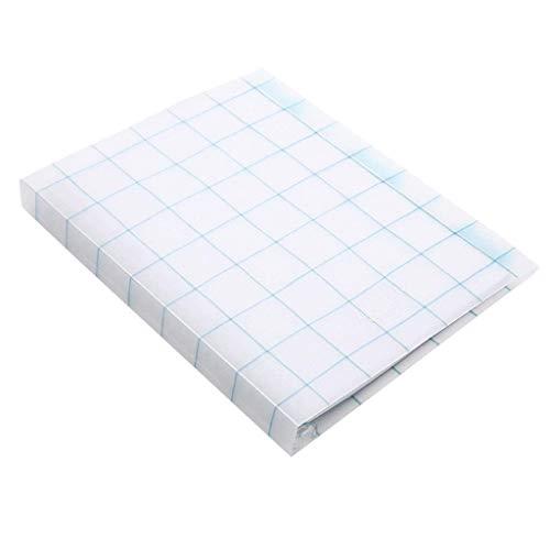 aedouqhr Bloc de Notas Cuaderno A5 B5 Cuadrícula de Registro de reuniones de Oficina Cuaderno de Hojas Sueltas Cuaderno de Papel de cuadrícula de Diario Transparente Bloc de Notas (Color: D, Tamaño: