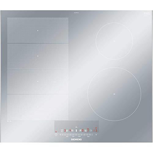 Siemens - piano cottura a induzione EX679FEC1E finitura vetroceramica acciaio inox da 60 cm