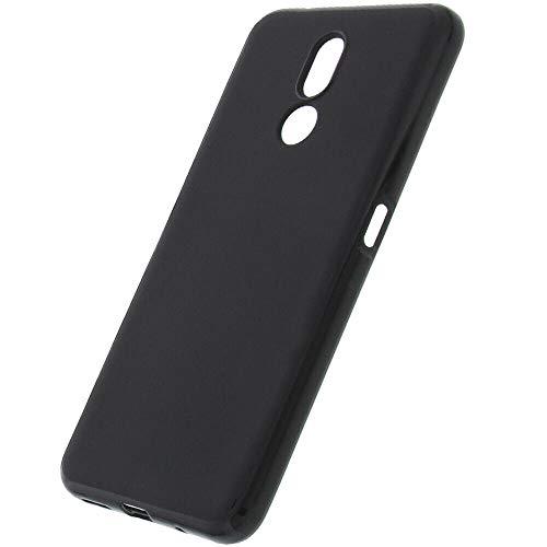 COPHONE® Coque Noir Compatible avec Nokia 3.2, Housse Etui Noir en Gel TPU Silicone Souple Ultra Mince avec Anti Choc