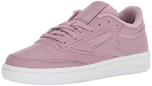 Reebok Women's Club C 85 Walking Shoe, Space dye-Infused Lilac/s, 5 M US