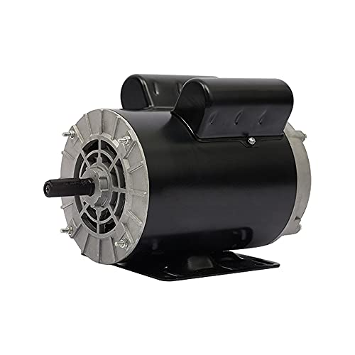5 HP SPL 3450 RPM P56 Frame Air Compressor 60 Hz Electric Motor 208-230 Volts Century Motor Single Phase# B385
