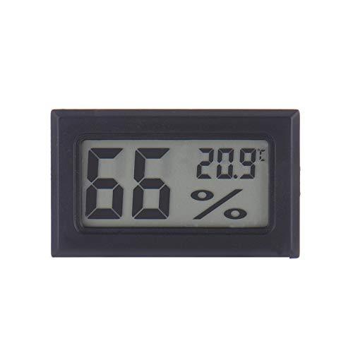 Molare Medidor De Temperatura para La Oficina En El Hogar Cuarto De Baño Comodidad Habitación Inalámbrica LCD Termómetro Digital Interior Higrómetro Mini Monitor Medidor De Humedad De Charming