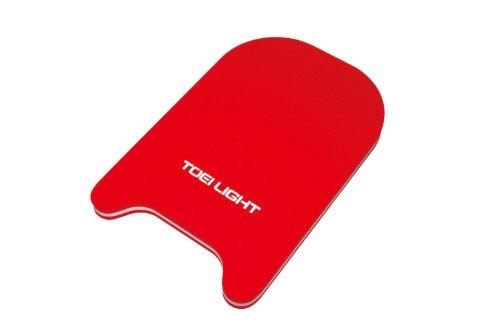 TOEI LIGHT(トーエイライト) キックボードMR45 赤 B3086R ビート板 練習用 EVA発泡の3層構造