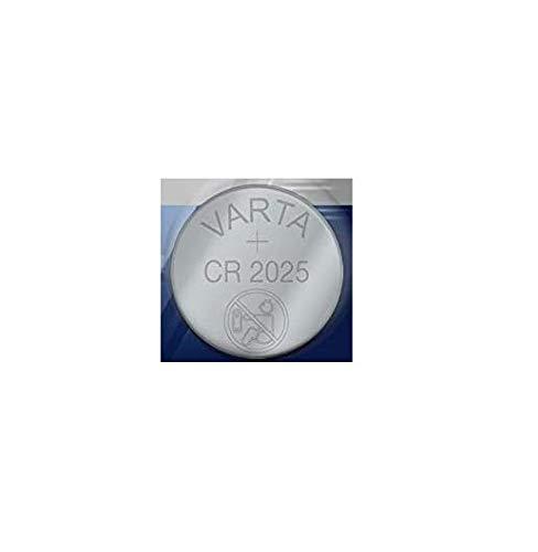 Varta - Botón de la célula de litio, cr2025 / dl2025 / 5003lc / e-cr2025 / sb-t14 / 280-205, 3v - 1 pieza