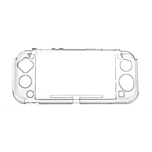 chora Andockbare Switch-Hülle für Nintendo, Schutzhülle mit festem Träger Klare Hülle Crystal Case Zubehör für Nintendo Switch Console Joy Con Controller Beautiful