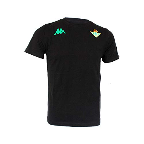 Camiseta para los aficionados del futbol Temporada 19/20 Escudo del equipo Real Betis y logotipo de KAPPA en el pecho