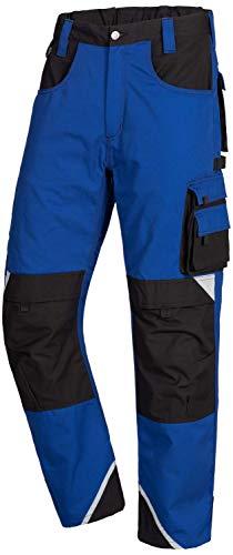 Nitras Motion Tex Plus 7611 Cargohose - Bundhose für die Arbeit - Blau - 46