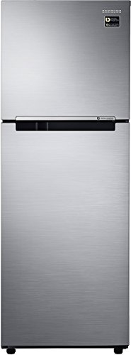 Samsung 253 L 1 Star Frost Free Double Door Refrigerator(RT28M3022S8, Elegant Inox, Inverter Compressor)