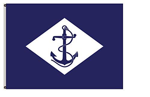 Fyon United States Historical Banner Former Federal Flags Infantry Battalion Flag (de Facto Flag of The U.S. Navy Until 1959) Flag 3x5ft