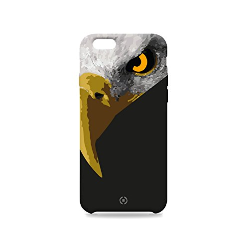 Celly Skin Collection Cover per iPhone 6/6S, Aquila