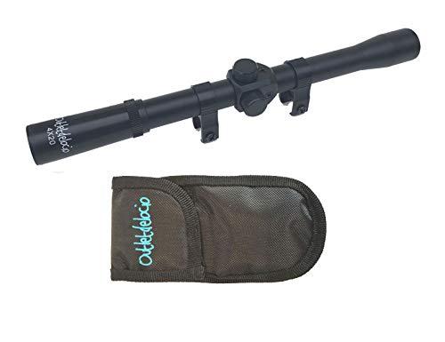 profesional ranking Paquete de visera Outlet delocio.  Mira de rifle 4 × 20.  Especialmente para tiro deportivo + bolsas multifuncionales … elección