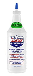 The best power steering stop leak: Lucas Power Steering Stop Leak