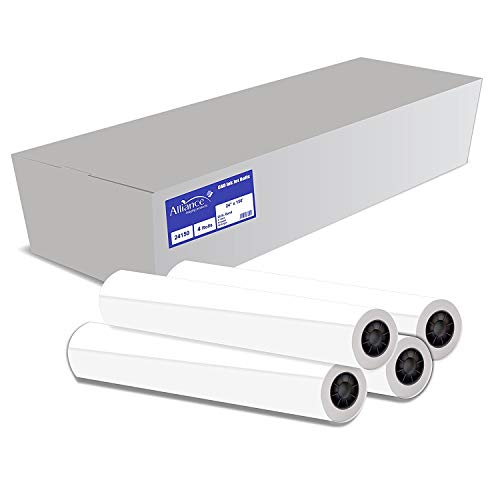 "Alliance CAD Paper Rolls, 24"" x 150"