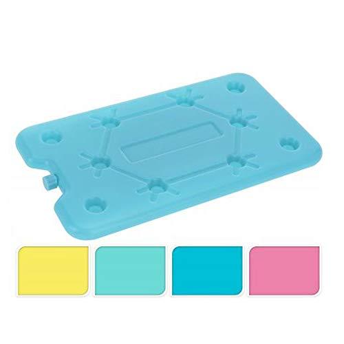 Kühlakku Kühlelement Kühlplatte, Kunststoff gefüllt, ca. 25 x 14 x 1 cm, farbig sortiert