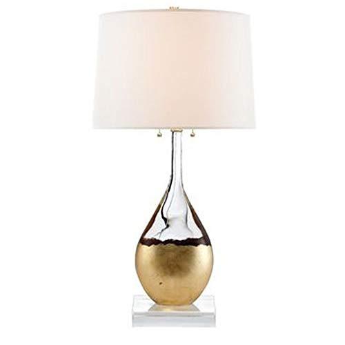 NINAINAI Lámpara D Noche Lámpara de mesita de Dormitorio de la habitación de la habitación de la Sala de Estar Moderno Minimalista Minimalista Art Lámpara de Mesa Lámpara De Mesa Retro