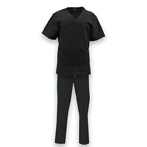 ROGER CON213 Uniforme Sanitario Repelente Agua 3M Microfibra Unisex Sanitario Casaca y pantalón (Varias Tallas y Colores)