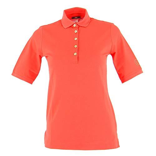 Bogner Sport Ladies Nadina Orange, Damen Polo Shirt, Größe 38 - Farbe Fire Brick