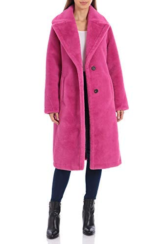 pink winter coats for women