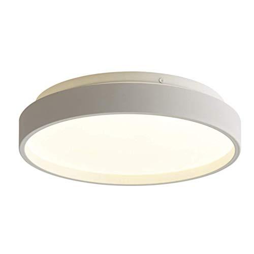 RUIXINBC Led-verlichting met plafondlamp, modern design, rond, macaron-licht, van metaal, acryl, oogschaduw voor kinderen in de slaapkamer, kamerplafondverlichting