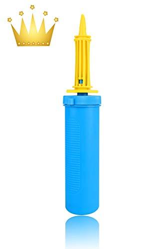 Kimimara Hand Pump, Air Pump, 2x Speed Pump, Balloons, Beach Ball, Float, Air Cushion, Air Pump, Refill Accessory (1 piece)