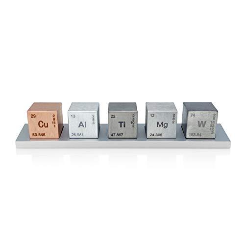 Juego de cubos elementos de 2,5 cm o 1 pulgada (tungsteno/co