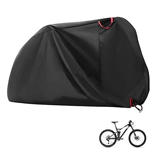 jihandong Funda Bicicleta Exterior Impermeable Anti Dust Accesorios Bicicleta para Bicicletas de Montaña y Carretera hasta 29'