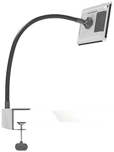 Exelium UP520 Set für iPad Mini: Tischhalterung, Wandhalterung & Standfuß, Schwanenhals, frei beweglich, mit Schutzhülle, weiß