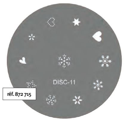 Stamp Tamponage Pochoir Disc-11 - SINA