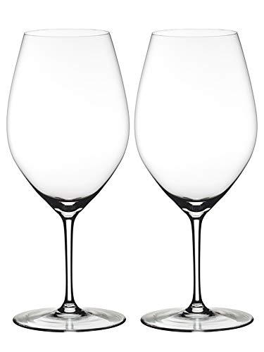 Riedel Ouverture - Juego de 2 copas de vino de cristal fino de 34 onzas