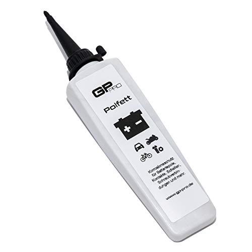 GP-PRO Polfett Made in Germany - Korrosionsschutz für Batteriepole, Kontakte, Schellen, Schraubverbindungen (Autobatterie/Motorradbatterie/E-Bikes)