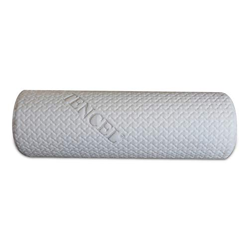 BlinBlin Memory Foam Neck Roll Pillow – Round Cervical Pillow & Removable...
