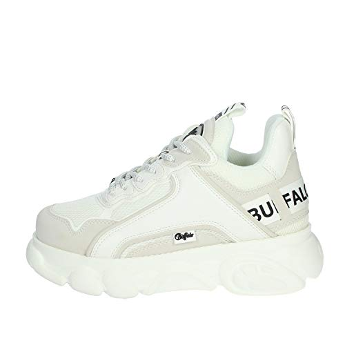 Buffalo Damen CLD CHAI Sneaker, Weiß, 38 EU