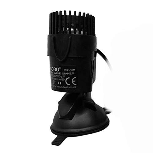 Watergolfpomp met waterpomp Powerhead enkele pomp met krachtige zuigvoet circulatiepomp voor Aquarium Super Motor (kleur: zwart) (grootte: WP50M-3W)