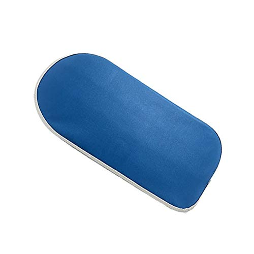 WQH Asiento de sillín, Rejilla Trasera para Bicicleta, cojín Suave para Bicicleta de Carretera, Asientos Traseros para Ciclismo, 30x15x3,5 cm (Color : Azul)