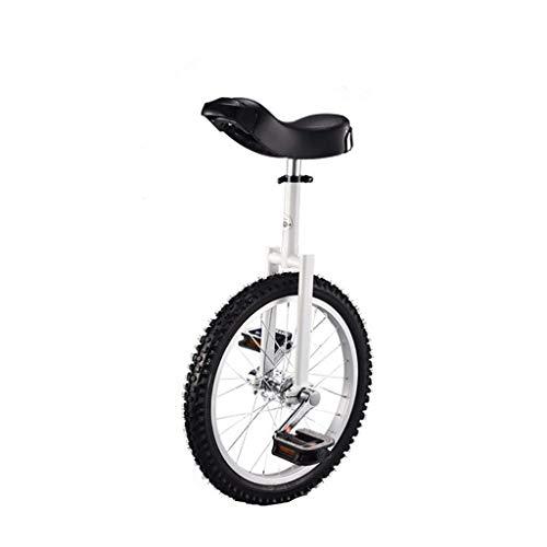 DC les Monociclos Carretilla, Monociclo Deportivo para Adultos de 18 Pulgadas para niños, Acrobacias, Bicicleta de Equilibrio para una Sola Aptitud (5 Opciones de Color) (Color : A)