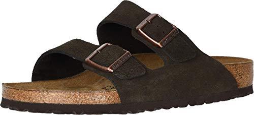 Birkenstock BIRKENSTOCK Arizona Schuhe mit Schnalle, Unisex, Erwachsene, Braun - braun (Mocha Suede) - Größe: 46 EU Estrecho