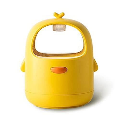 Kongqiabona-UK Lampe Anti-Moustique électrique pour piège à moustiques d'intérieur avec Alimentation USB et Adaptateur d'aspiration sans Zapper