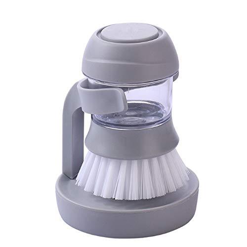 Kitchen Cleaning Brush - Soap Dispenser Refillable Dish Washing Brush