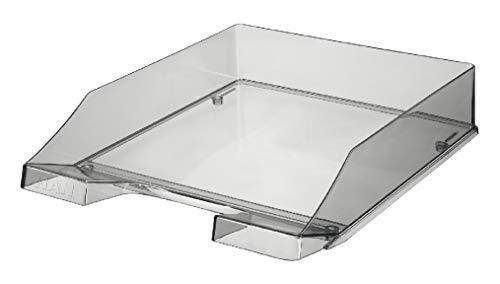 HAN 1026-X-24 Briefkorb C4 255x348x65 mm, transparent grau Kunststoff