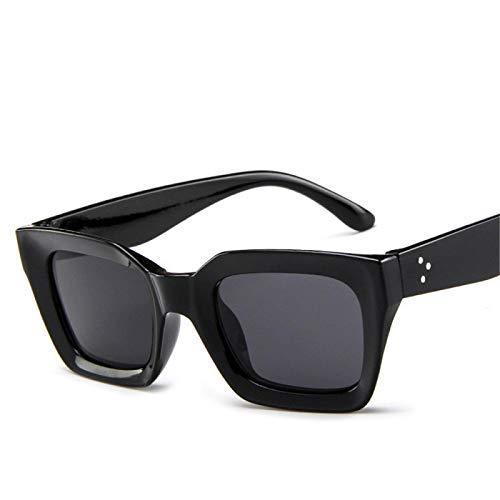 HAOMAO Lindas y Atractivas Gafas de Sol de Ojo de Gato con triángulo pequeño Retro Uv400 para Mujer C2