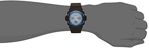 『[カシオ] 腕時計 ジーショック FIRE PACKAGE '16 世界6局対応電波ソーラー AWG-M100SF-2AJR ブラック』の3枚目の画像