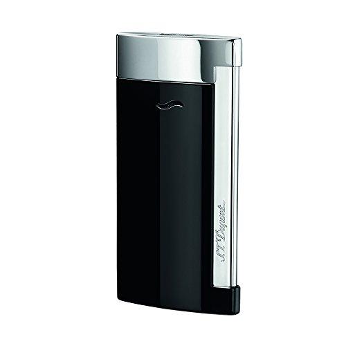 S.T. Dupont S.T. Dupont Slim 7Feuerzeug, schwarz/chrom Schwarz / Chrom