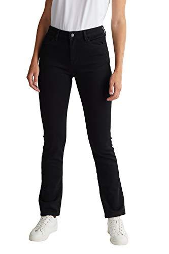 ESPRIT Damen 080EE1B333 Jeans, 910/BLACK Rinse, 31W / 32L