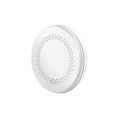 TAORANG Detector de humo de la alarma de humo Detector de humo inteligente WiFi Detector de humo Inicio Fuego de humo Alarma de fuego con alarma fuerte