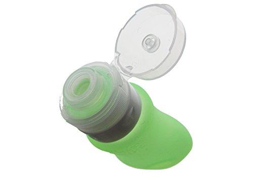 Petfeder Futtertube Trainingstube Leckerlitube Squeezetube für Hundetraining aus Silikon, 89 ml, grün