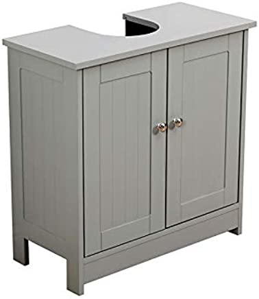 Marvelous Amazon Co Uk Grey Wash Stands Vanity Units Bathroom Home Remodeling Inspirations Basidirectenergyitoicom