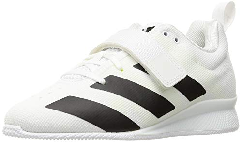 adidas Adipower Weightlifting II Mens Trainer Shoes White/Black Size 5